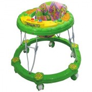 Ehomekart Green Winny Round Musical Walker for Kids