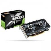 Видео карта Inno3D GeForce GTX 1660 Ti Twin X2, HDMI, DisplayPort, NVIDIA Ansel, NVIDIA G-SYNC, N166T2-06D6-1710VA15