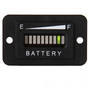 Searon 36V Volt LED Battery Indicator Meter Guage for EZGO Club Car Yamaha Golf Cart Solar Panel Marine Trolling Motor