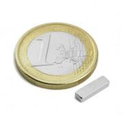 Magnet neodim bloc, 10x3x2 mm, putere 700 g