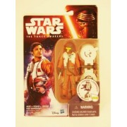 Hasbro Star Wars The Force Awakens 3.75 Inch Figure Space Mission Poe Dameron