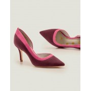 Boden Rotbraun/Helles Pink Sophia Pumps mit mittelhohem Absatz Damen Boden, 38½, Brown