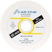 CAG One slijpwiel 150 mm zacht wit