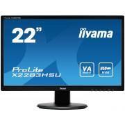 iiyama ProLite X2283HSU-B1DP 21,5' AMVA, 1920x1080, 1A1D1DP, USB