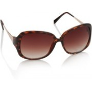 Sunmate Over-sized Sunglasses(Brown)