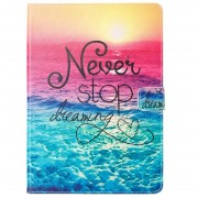Capa Folio Wonder Series para iPad 9.7 2017/2018 - Never Stop Dreaming
