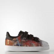 Adidas Кроссовки Superstar Star Wars adidas Originals Черный 22