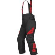 FXR Clutch Kids Bib Pants Black Red XS