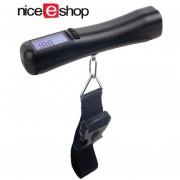 Louiwill Nuevo Equipaje De Viaje Digital 88 Lbs 40 Kg Hand Held Portable Scale, Black