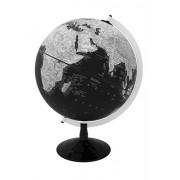 """Replogle Barrow Modern Designer Series Black Ocean World Globe, Raised Relief, Designed for Modern Decor (12""""/30 cm diameter)"""