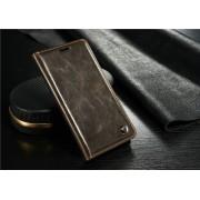 Samsung Galaxy Note 7R rustiek leren boekhoesje bruin