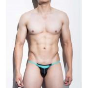 Mategear Kim Bae Tapered Sides V Front Series III Maximizer Ultra Bikini Swimwear Black 1101203