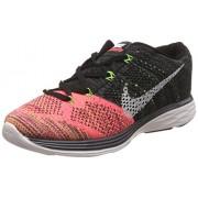 Nike Men's Flyknit Lunar 3 Black Running Shoes - 10 UK/India (45 EU)(11 US)(698182-007)