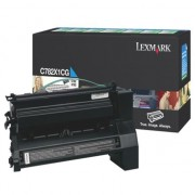 Lexmark C782x1cg Cyan (prebate) Toner Yield 15,000 Pages For C780