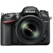Nikon D7200 24.2 MP Digital SLR Camera (Black) with AF-S 18-105mm VR Kit Lens and Card Camera Bag