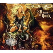 Video Delta Doro - DORO - 25 YEARS IN ROCK - DVD