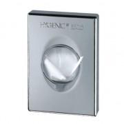 Dispenser pungute tampoane igienice plastic cromat