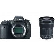 Canon Eos 6d + 24-105mm F/3.5-5.6 Is Stm - Man. Ita - 4 Anni Di Garanzia