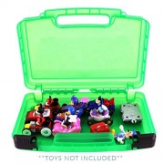 Life Made Better Mickey Roadster Case, Toy Storage Carrying Box. Figures Playset Organizer. Accessories for Kids by L