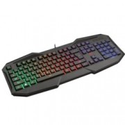 Клавиатура Trust GXT 830-RW Avonn, 12 програмируеми бутона, подсветка, черна, USB