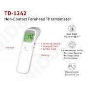 Termometru non-contact digital infrarosu TaiDoc TD-1242, citire intr-o secunda