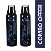 Mistpoffer Bel Espirit Perfumed Deodorant Body Spray Combo Offer Pack of 2 for Men (150 ml Each)