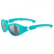 Uvex Occhiale sole Uvex Sportstyle 510 (Colore: turquoise-white mat, Taglia: UNI)