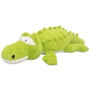 vidaXL Плюшена играчка крокодил, XXL, 100 см