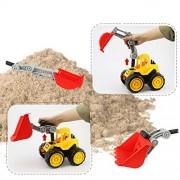 ELECTROPRIME Kids Push Around Truck Model Kits Beach Sand Truck Toys Vehicle - Bulldozer