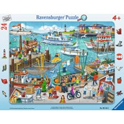 Puzzle O zi in port, 24 piese