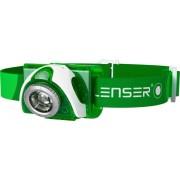 Lanternă frontală Led Lenser SEO 3, verde