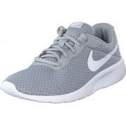 Nike Tanjun (gs) Wolf Grey/white-white, Skor, Sneakers & Sportskor, Sneakers, Blå, Barn, 36