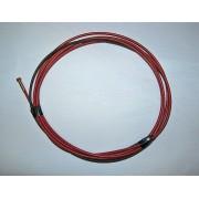 Wkład spiralny 4m czerwony