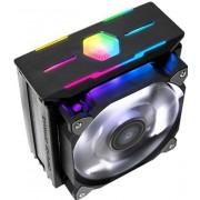 Zalman CNPS10X OPTIMA II - Koeler voor processor - 120 mm - 61.52 cfm - 27 dBA - RGB - zwart
