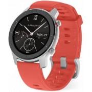 "Smartwatch Xiaomi Amazfit GTR, Display AMOLED 1.2"", Bluetooth, GPS, Bratara Cauciuc 42mm, Android/iOS (Rosu)"