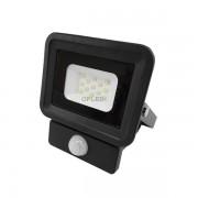OPTONICA SMD2 LED REFLEKTOR / mozgásérzékelős / 20W / Fekete / Nappali fehér / FL5857
