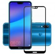 Folie sticla securizata 5D Full Glue Huawei P20 Lite Negru