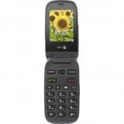 "DORO PHONEEASY 6030 2.4"" A COLORI EASY PHONE CLAMSHELL FOTOCAMERA RADIO BLUETOOTH TASTO EMERGENZA ITALIA GRAPHITE"
