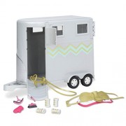 Lori Doll Hoofing It Horse Trailer Set