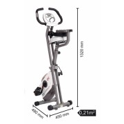 Bicicleta magnetica pliabila Toorx Brx-Compact