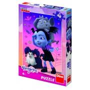 Puzzle Vampirina Ballerina Dino Toys, 48 piese, 4 ani+