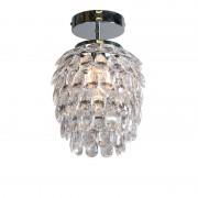 Trio Leuchten Art Deco Ceiling Lamp Steel - Bling