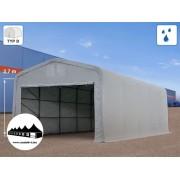 5x10x2,7m Wikinger raktársátor/ 550g/m2 PVC ponyva (Wikinger)