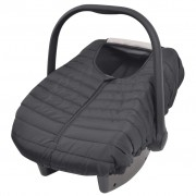 vidaXL Baby Carrier/Car Seat Cover 57x43 cm Black