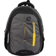 CRAFTLY 17 Inch Black & GREY, YELLOW 30 Backpack(Black, Grey, Yellow)