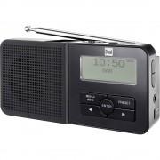 DAB+ džepni radio Dual DAB 5 DAB+, UKV funkcija punjenja baterije, crne boje