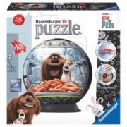 Puzzle 3D Viata Secreta A Animalelor 108 Piese