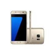 Smartphone Samsung Galaxy S7 Android 6.0 Tela 5.1 32GB 4G Câmera 12MP - Dourado