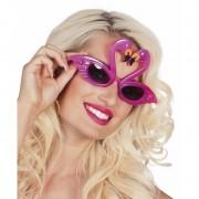 Merkloos Flamingo feest zonnebril voor volwassenen