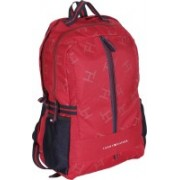 Tommy Hilfiger Biker Club Alaska 23.6 L Medium Laptop Backpack(Red, Blue)